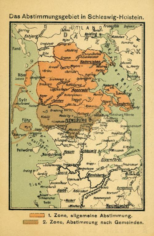 Folkeafstemning Og Graensen 1920 Det Danske Mindretal I Sydslesvig